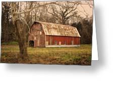 Old Barn Near Rhineland Mo Dsc09267 Greeting Card