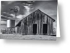 Old Barn No Wind Greeting Card