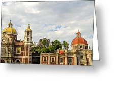Old Basilica Of Guadalupe Greeting Card
