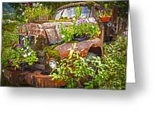 Old Truck Betsy Greeting Card