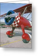 Old Biplane V Greeting Card