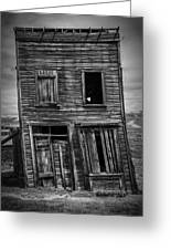 Old Bodie Building Greeting Card by Garry Gay