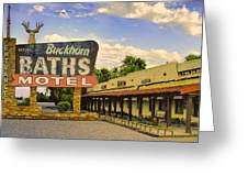 Old Buckhorn Baths Greeting Card