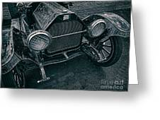 Old Buick Greeting Card