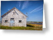 Old Building In North Rustico Greeting Card