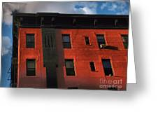 Brownstone 1 - Old Buildings And Architecture Of New York City Greeting Card