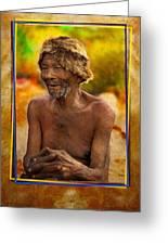 Old Bushman Greeting Card