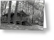 Old Cabin  Greeting Card by Bob Jackson
