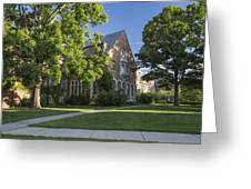 Old Campus Michigan State University Greeting Card