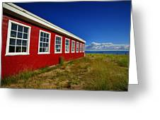 Old Cannery Building Greeting Card