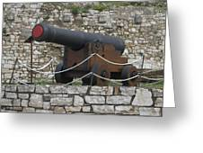 Old Cannon Greeting Card