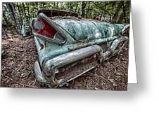 Old Car 3 Greeting Card