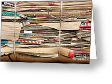 Old Cardboard Boxes  Greeting Card