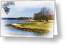 Old Carolina Golf Club Greeting Card