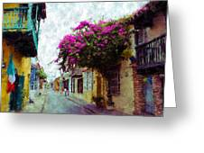 Old Cartagena 2 Greeting Card