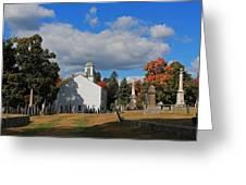 Old Cemetery Harvard Ma Greeting Card