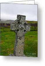 Old Cemetery Stones In Scotland Greeting Card