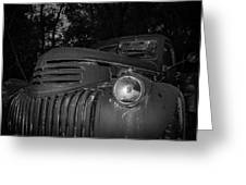 Old Chevy Truck 2 Greeting Card