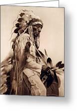 Old Cheyenne Greeting Card