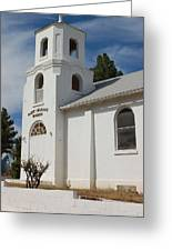 Old Church Building Greeting Card