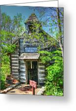 Old Church In The Woods Greeting Card