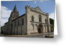 Old Church - Loire - France Greeting Card