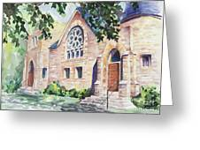 Old Church Greeting Card by Svetlana Howe