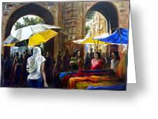 Old City Ahmedabad Series 8 Greeting Card