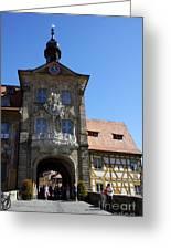 Old City Hall - Bamberg Greeting Card