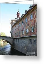 Old City Hall - Bamberg - Germany Greeting Card