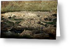 Old City Of Toledo Greeting Card