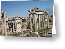 Old City Roma Greeting Card