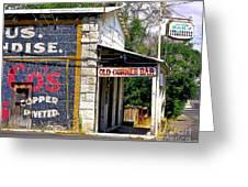 Old Corner Bar - Dayton - Nevada Greeting Card