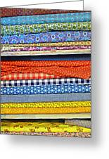 Old Country Store Fabrics Greeting Card