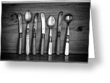 Old Cutlery Greeting Card