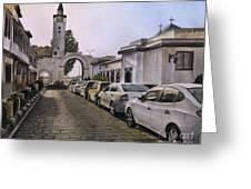 Old Damascus . Bab Sharqi Greeting Card