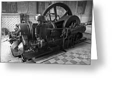 Old Diesel Motor Mexico Greeting Card