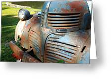 Old Dodge Truck Greeting Card