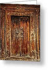 Old Doorway Greeting Card
