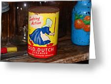 Old Dutch Greeting Card