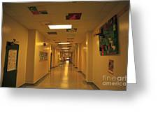 Clare Elementary School Hall Greeting Card