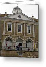 Old Exchange And Customs House Charleston South Carolina Greeting Card