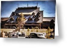 Old Faithful Inn Yellowstone  Greeting Card