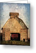 Old Farm Building Greeting Card