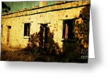 Old Farm Building Greeting Card