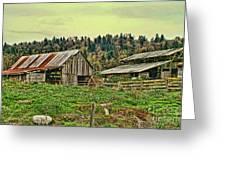 Old Farm Greeting Card