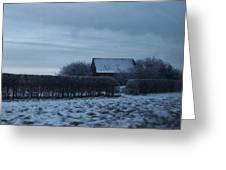 Old Farm House In Northern Yorkshire Greeting Card