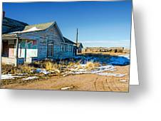 Old Farm House Greeting Card by Baywest Imaging