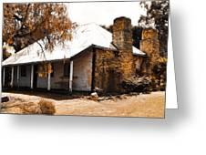 Old Farmhouse Greeting Card