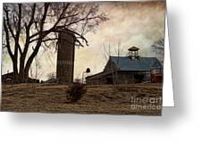 Old Farmstead  Greeting Card